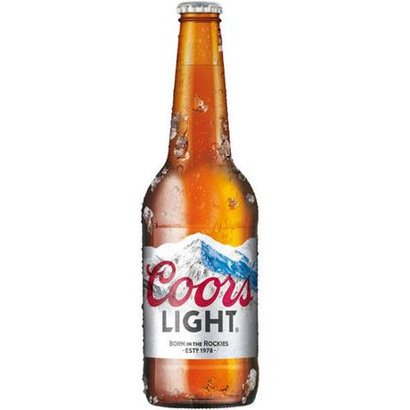 Coors Light Beer, 18 fl oz - Walmart.com