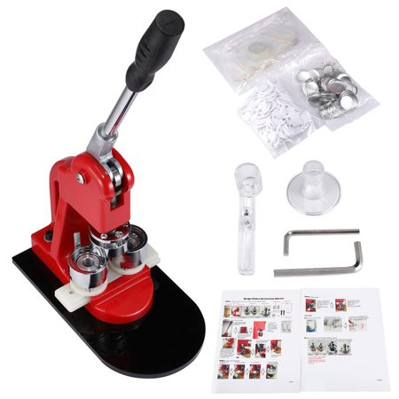 Button Maker Kit, BEAMNOVA Button Maker Machine Badge Punch Press 1 25