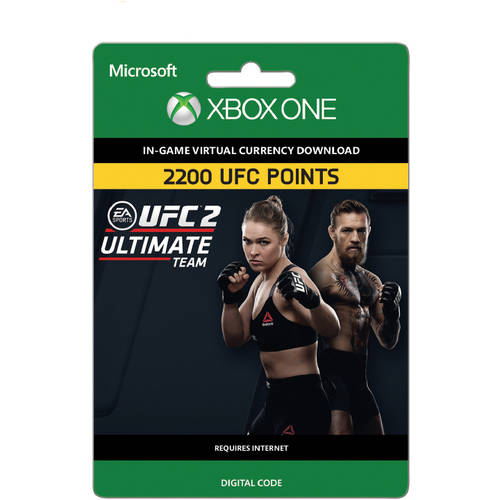 UFC 2 - 2200 UFC POINTS (Xbox One) (Email Delivery)
