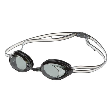 Jr. Vanquisher 2.0 Swim Goggles, Smoke, One Size, Excellent competitive and training goggle that features soft silicone seals By
