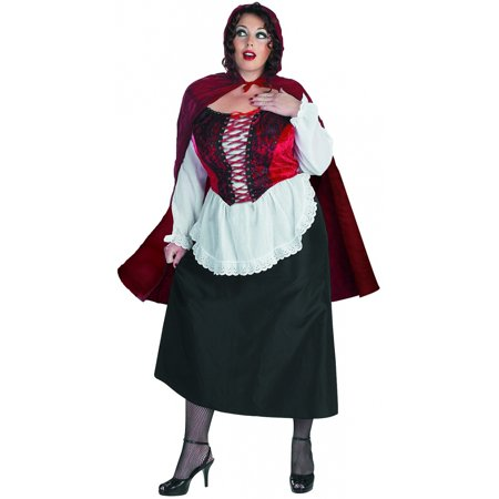 Little Red Riding Hood Plus Size Adult Costume - X-Large