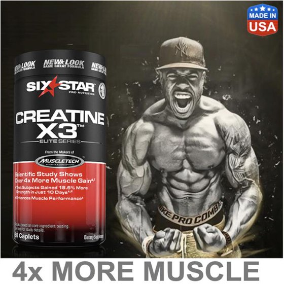 Six star muscle creatine pills reviews