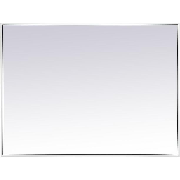Elegant Lighting Mr43040 Eternity 30 X, White Bathroom Mirror 30 X 40
