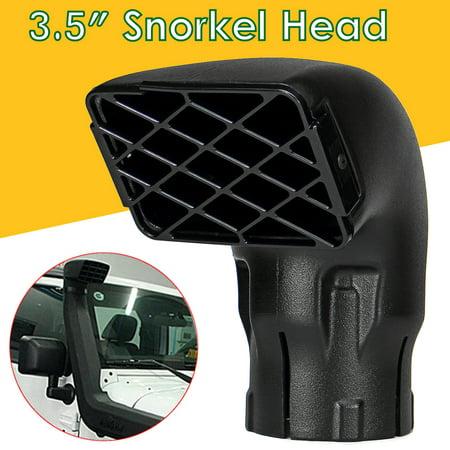Universal Black Snorkel Inlet Head 3