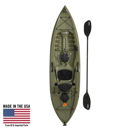 Lifetime Tamarack Angler 100 Fishing Kayak (Paddle Included), - Gore Tex Paclite Kayak