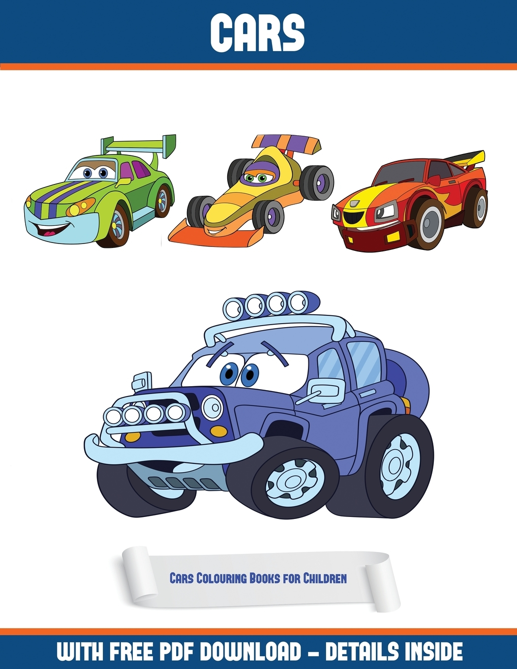 Cars Colouring Books For Children (Cars): Cars Colouring Books For Children  (Cars) : A Cars Coloring (