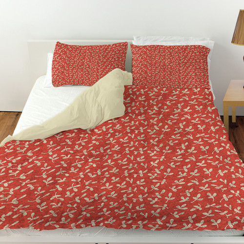 Manual Woodworkers & Weavers Dream Big Ditsy Florals Duvet Cover