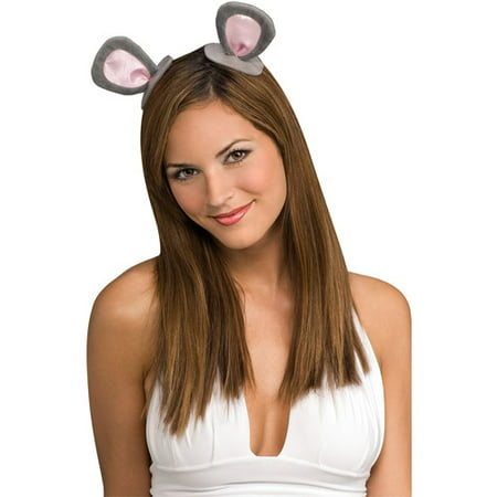Clip-On Mouse Ears Adult Halloween Accessory - Adult Mouse Ears