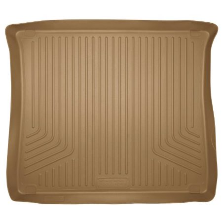 Husky Custom Molded Cargo Liners - Husky Liners Custom Fit WeatherBeater Molded Rear Cargo Liner for Select Cadillac SRX Models (Tan)