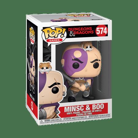 Funko POP! Games: Dungeons & Dragons - Minsc & Boo
