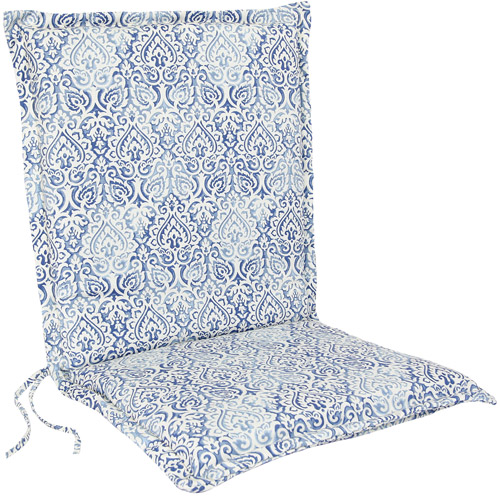 Jordan Manufacturing Outdoor Flanged Chair Cushion, Multiple Patterns