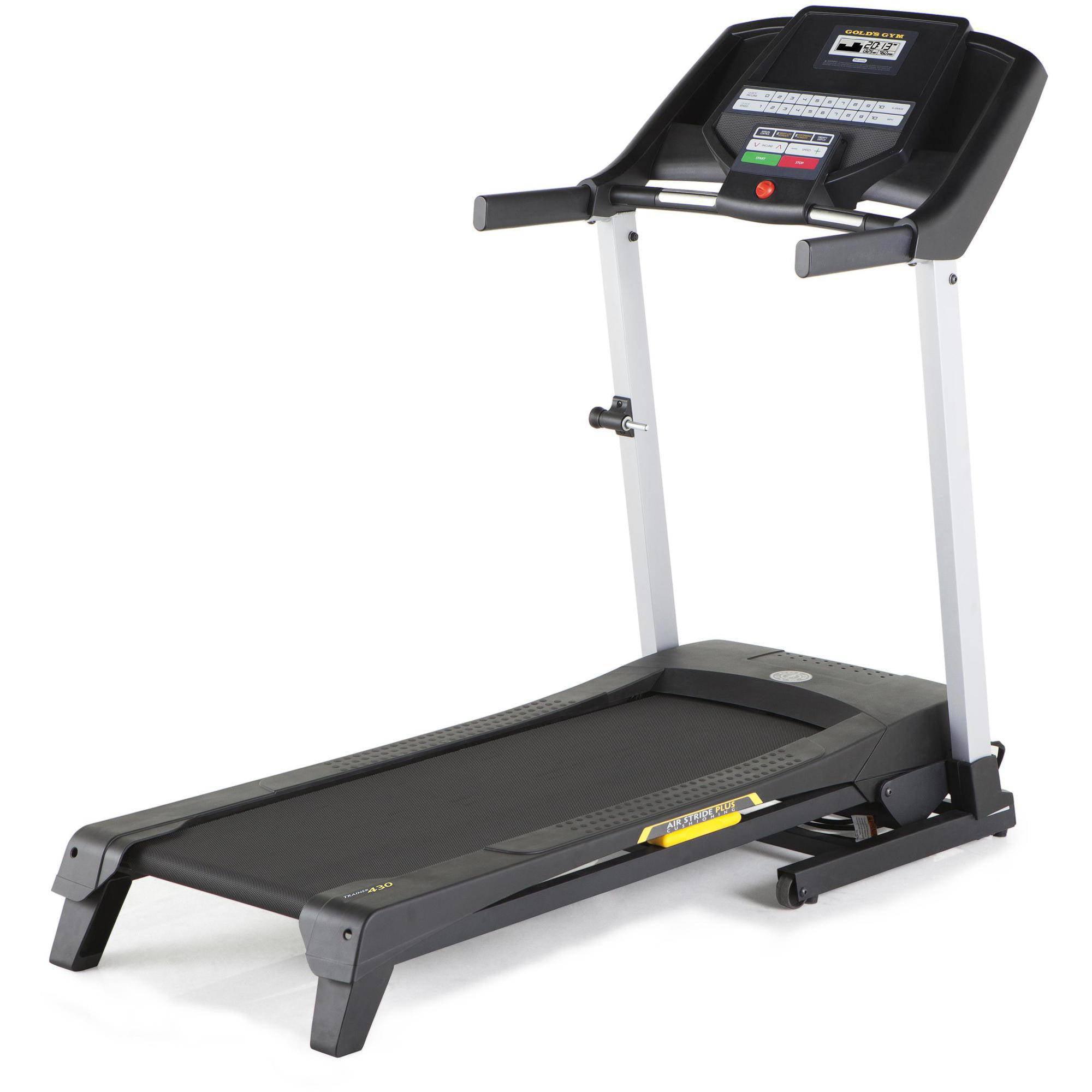 Golds Gym Trainer 430 Treadmill Walmartcom