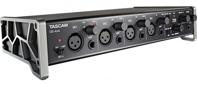 Tascam US-4x4 4-Channel USB Audio Interface
