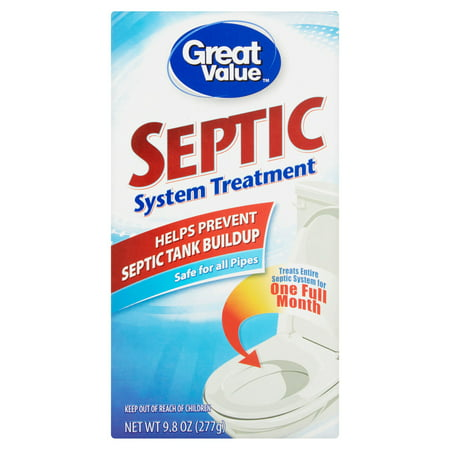Great Value Septic System Treatment, 9.8 oz