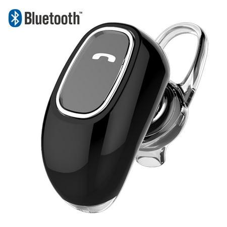 Universal Mini Stereo Bluetooth Earpiece Single Side With Microphone Headset