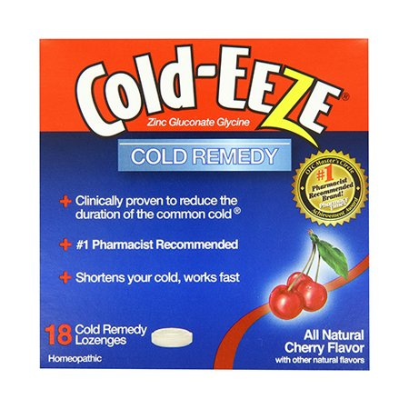Cold-Eeze Cough Suppressant Drops Bag With Cherry Flavor - 18