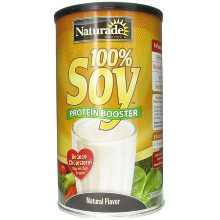 Naturade 100% de protéines de soja Booster saveur naturelle, 14,8 OZ