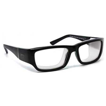 7 Eye Bali Sunglasses - 7 Eye Nereus/ SharpView Clear, Glossy Black Frame Unisex Sunglasses, S-M