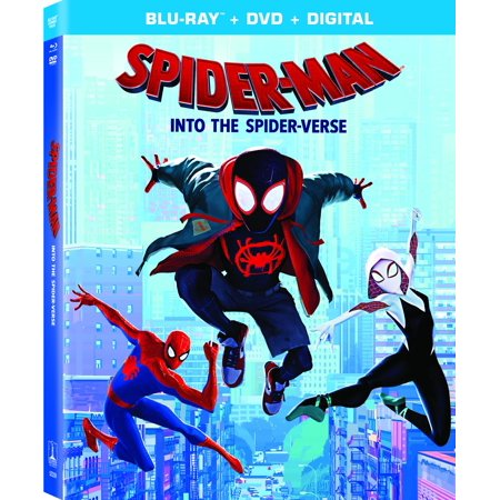 Spider Man Jessica Drew (Spider-Man: Into the Spider-Verse (Blu-ray + DVD + Digital)