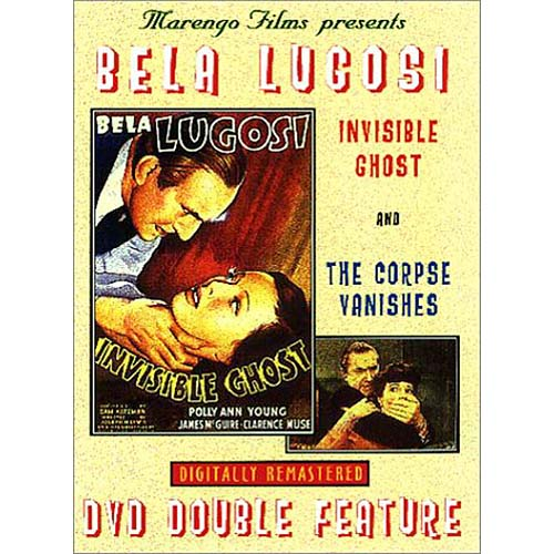 Bela Lugosi DVD Double Feature: Invisible Ghost/ The Corpse Vanishes