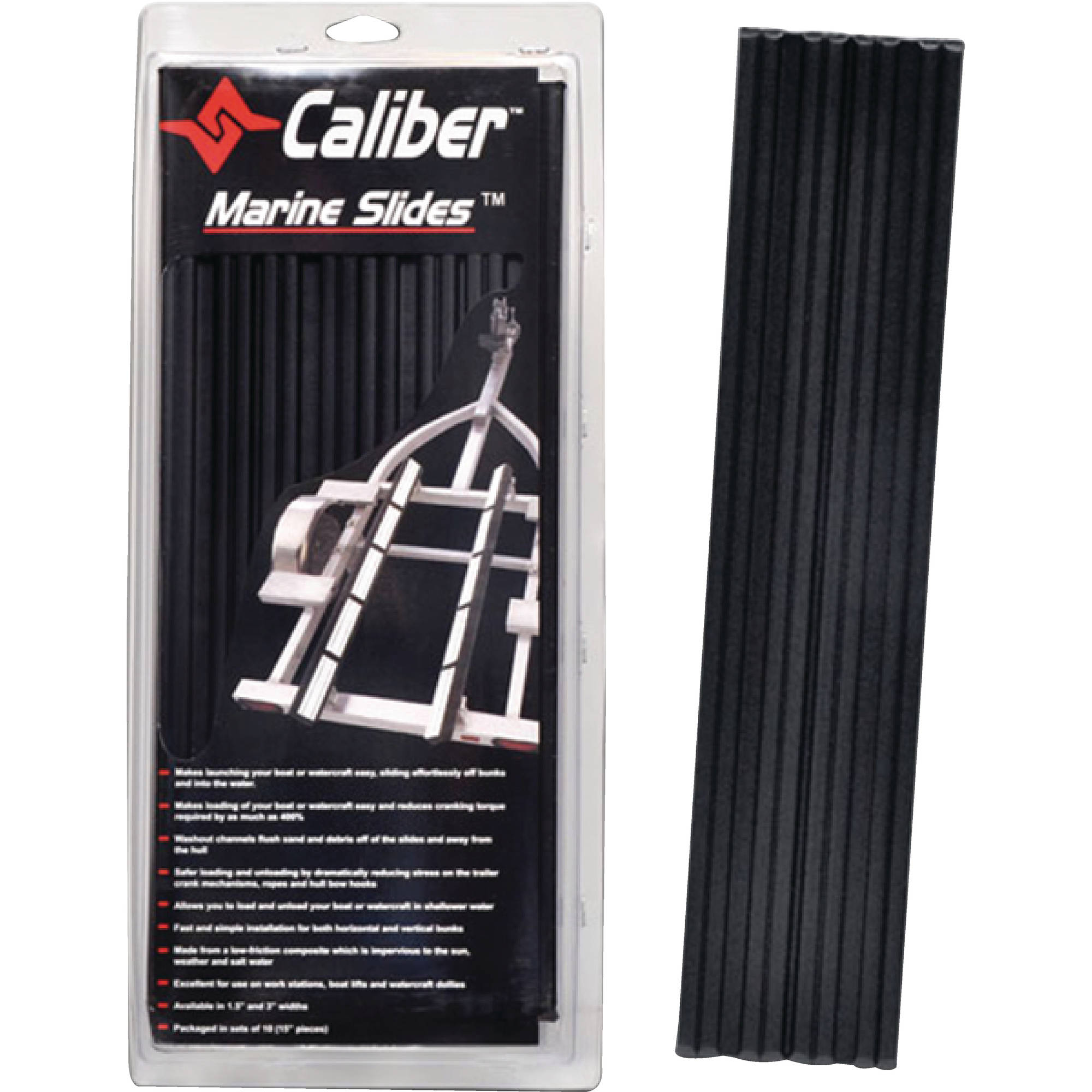 Caliber Marine Bunk Slides, 10-Pack