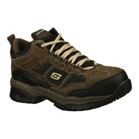 Skechers Work Mens Soft Stride Canopy High Top Athletic Composite Toe Safety Shoes