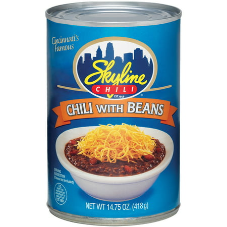 Skyline Chili With Beans  14 75 Oz