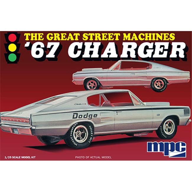 MPC MPC829 1967 Dodge Charger Car Model Kits