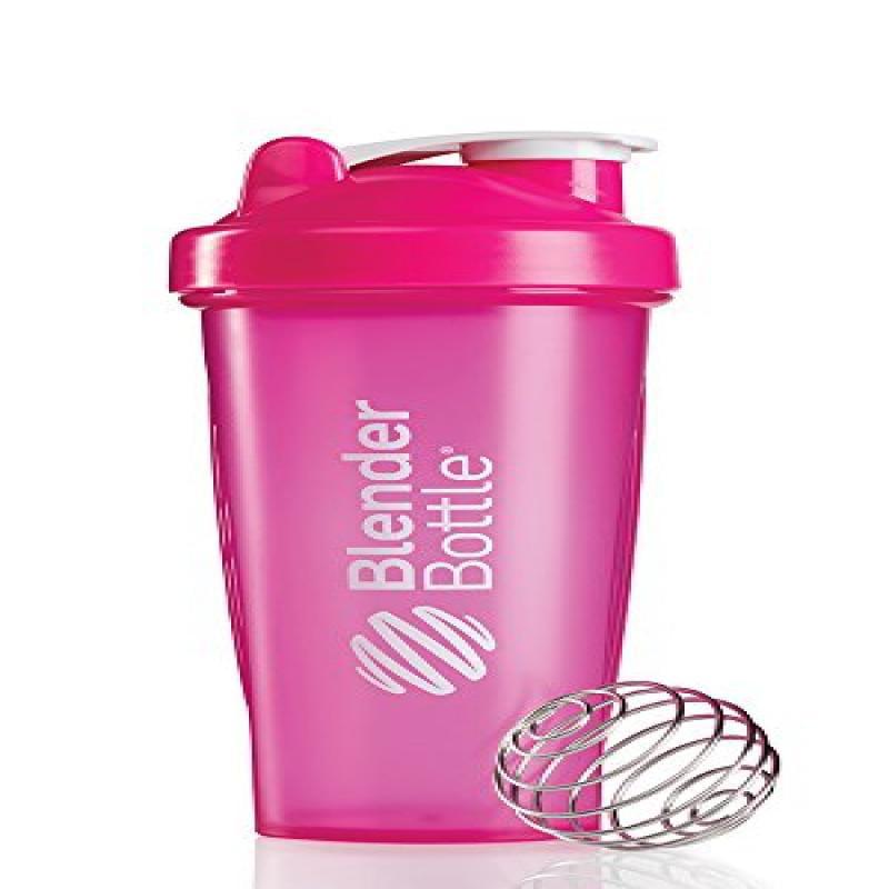 BlenderBottle Classic Loop Top Shaker Bottle, Pink/Pink, 28-Ounce Loop Top