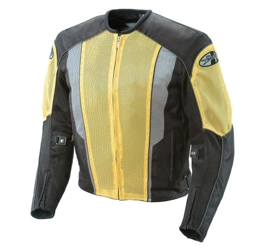Joe Rocket Phoenix 5.0 Mens Yellow/Black Mesh Motorcycle ...