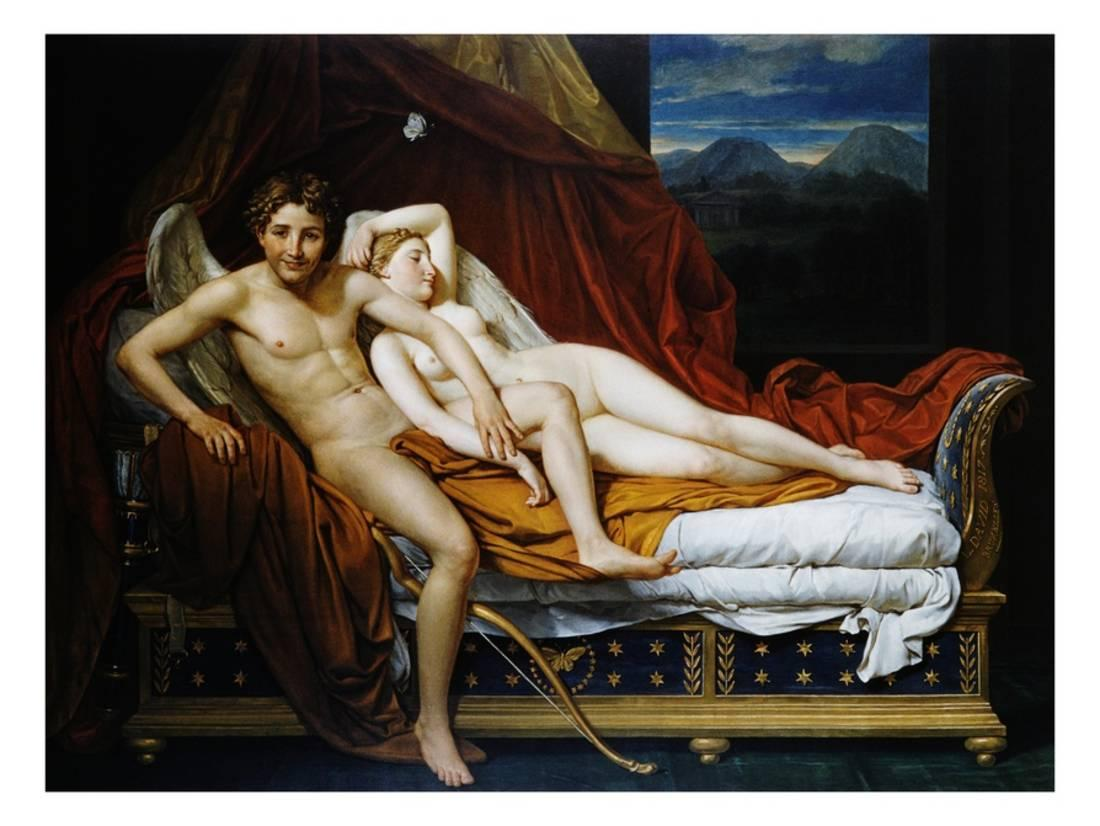 Mine the Jacques louis david cupid and psyche have