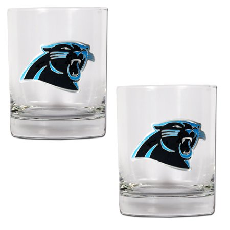 Carolina Panthers 14oz. Rocks Glass Set - No Size
