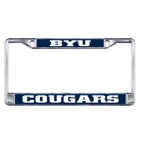 BYU Cougars Plate Frame
