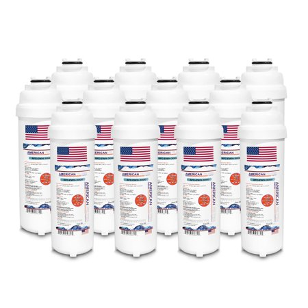 12 Pack Elkay LMABFTLDDWSLK Compatible AFC Brand Water Filter