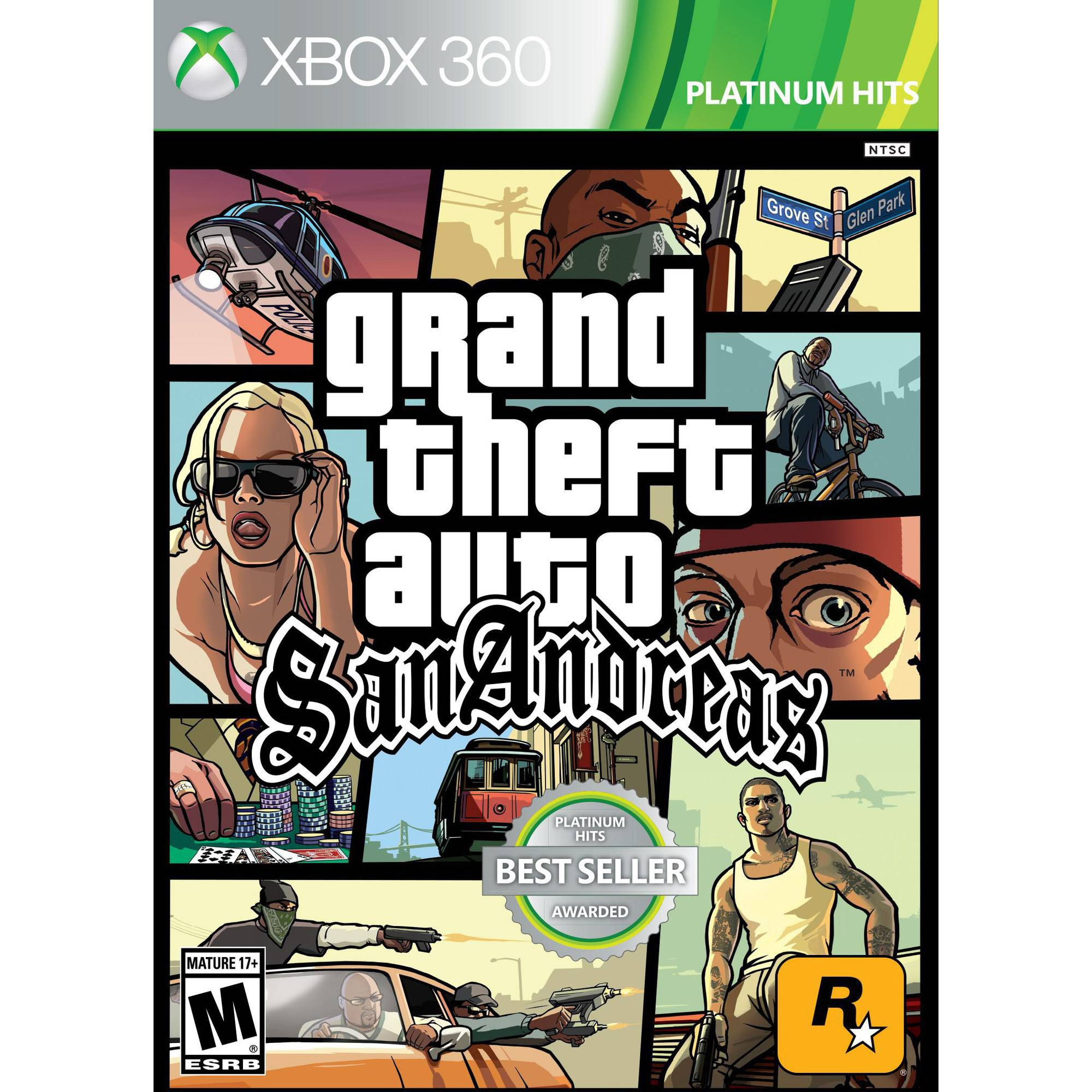 Grand Theft Auto San Andreas (Xbox 360)