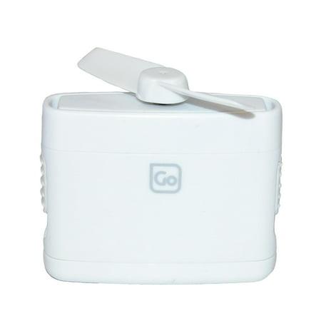 Go Travel Micro Personal Size Fan with Retractable Blade - image 2 de 2