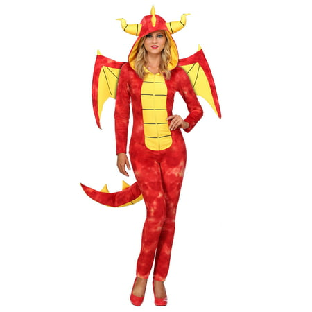 Dazzling Dragon Womens (Women's Dragon Costume)