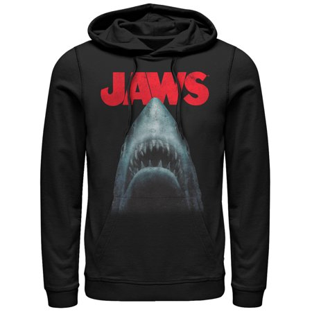 Jaws Men's Shark Teeth Poster - Shark Hoodie Halloween