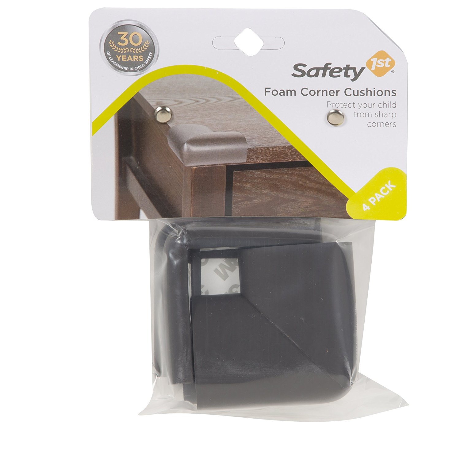 Safety 1st Foam Corner Cushion - Décor - 4 Pack