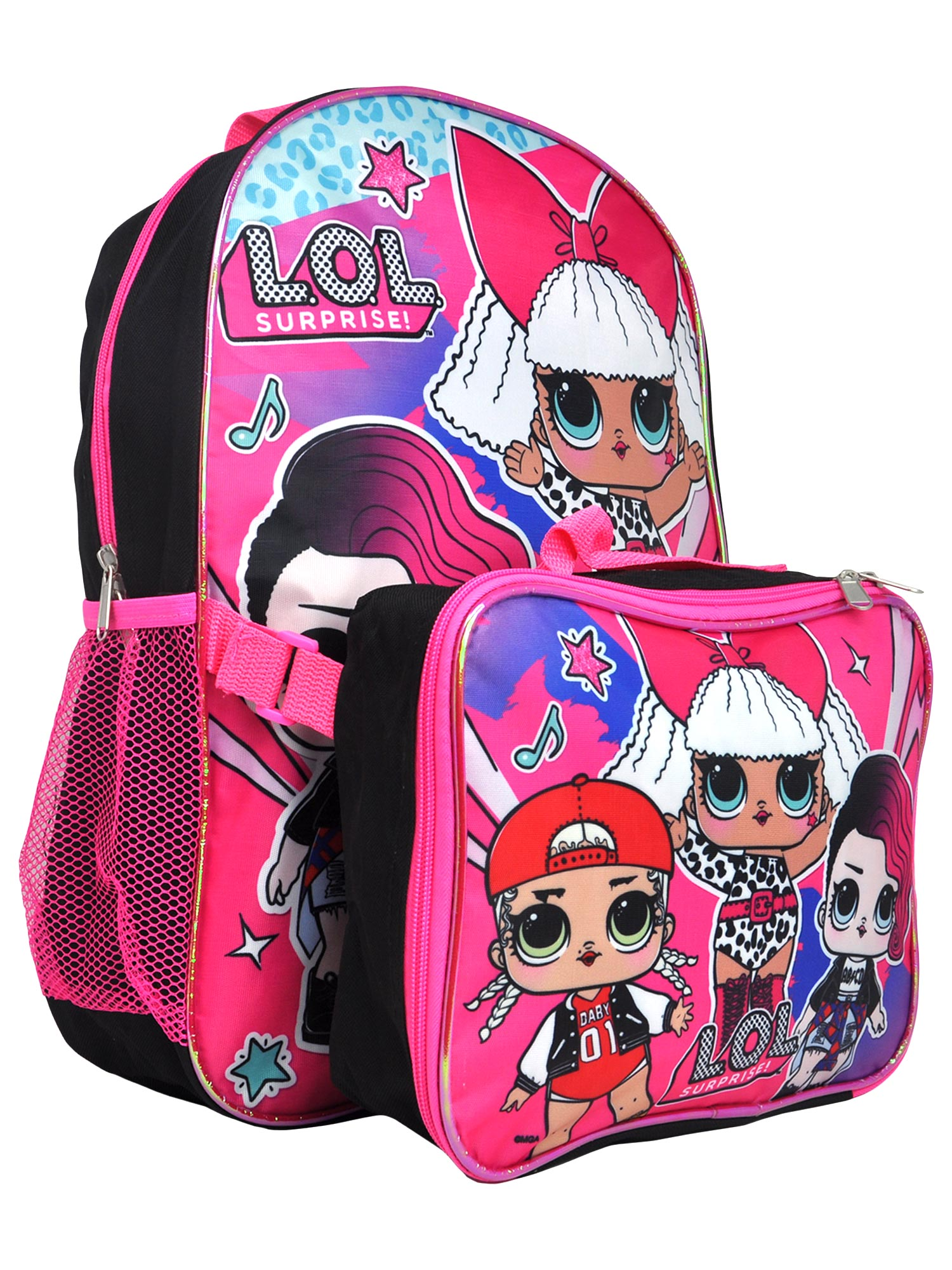 Cool Football Backpack Set Lunch Bag Pencil Case Children Portable Back to School Boys
