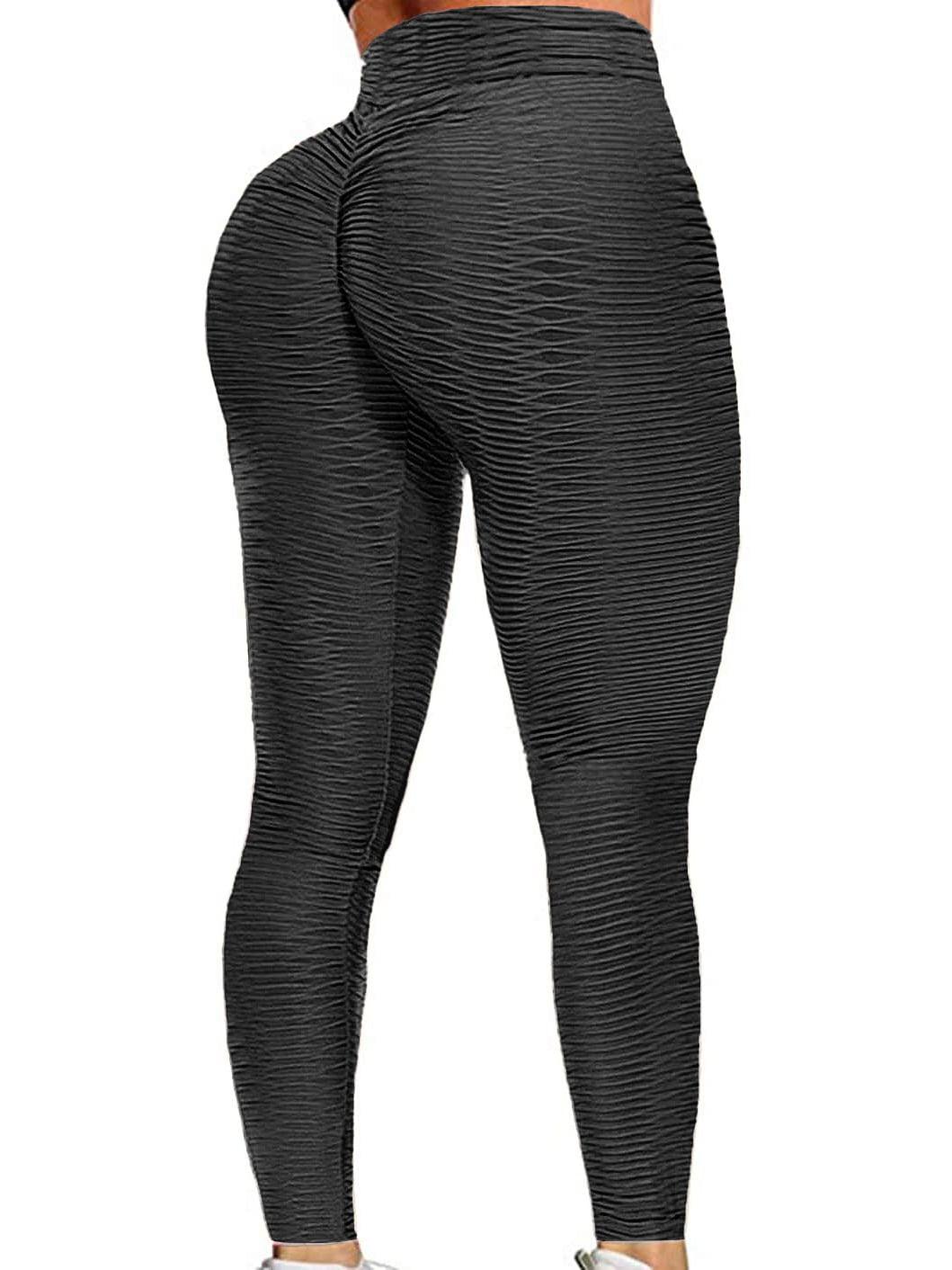 Yoga Shorts for Women High Waist,Womens Biker Shorts Ruched Butt Lift Leggings Tummy Control Workout Tights