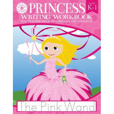 Princess Writing Workbook Practice Printing Words, Phrases, and (Make A Sentence With The Word Traveller)