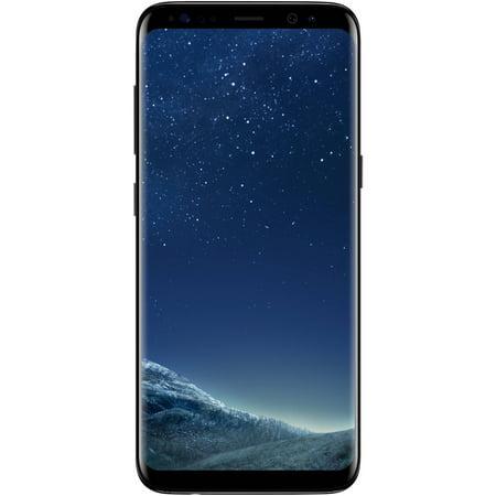 Straight Talk Samsung Galaxy S8 LTE Prepaid Smartphone, Black
