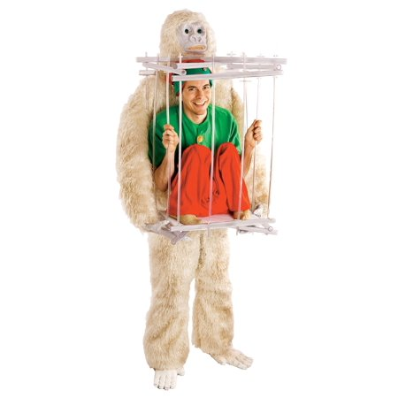 Abominable Snowman & Cage Costume Kit for $<!---->