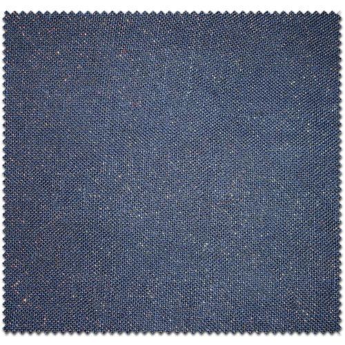 Textile Creations Home Decor Burlap Metallic Solids Navy Fabric, per Yard