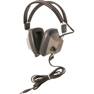 - Califone Explorer Binaural Headphones w/ 3.5mm Stereo Plug & Volume Control