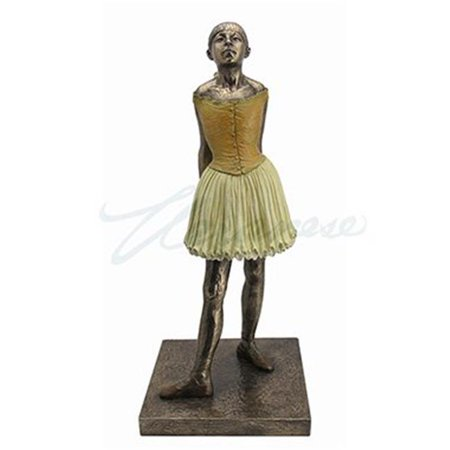 Degas Little Dancer - Unicorn Studios WU76645A4 Large Degas Little Dancer Ballerina Statue