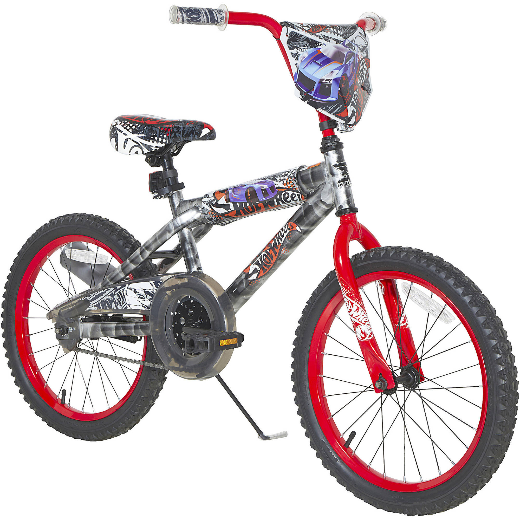 "18"" Dynacraft Hot Wheels Boys' Bike with Turbospoke"