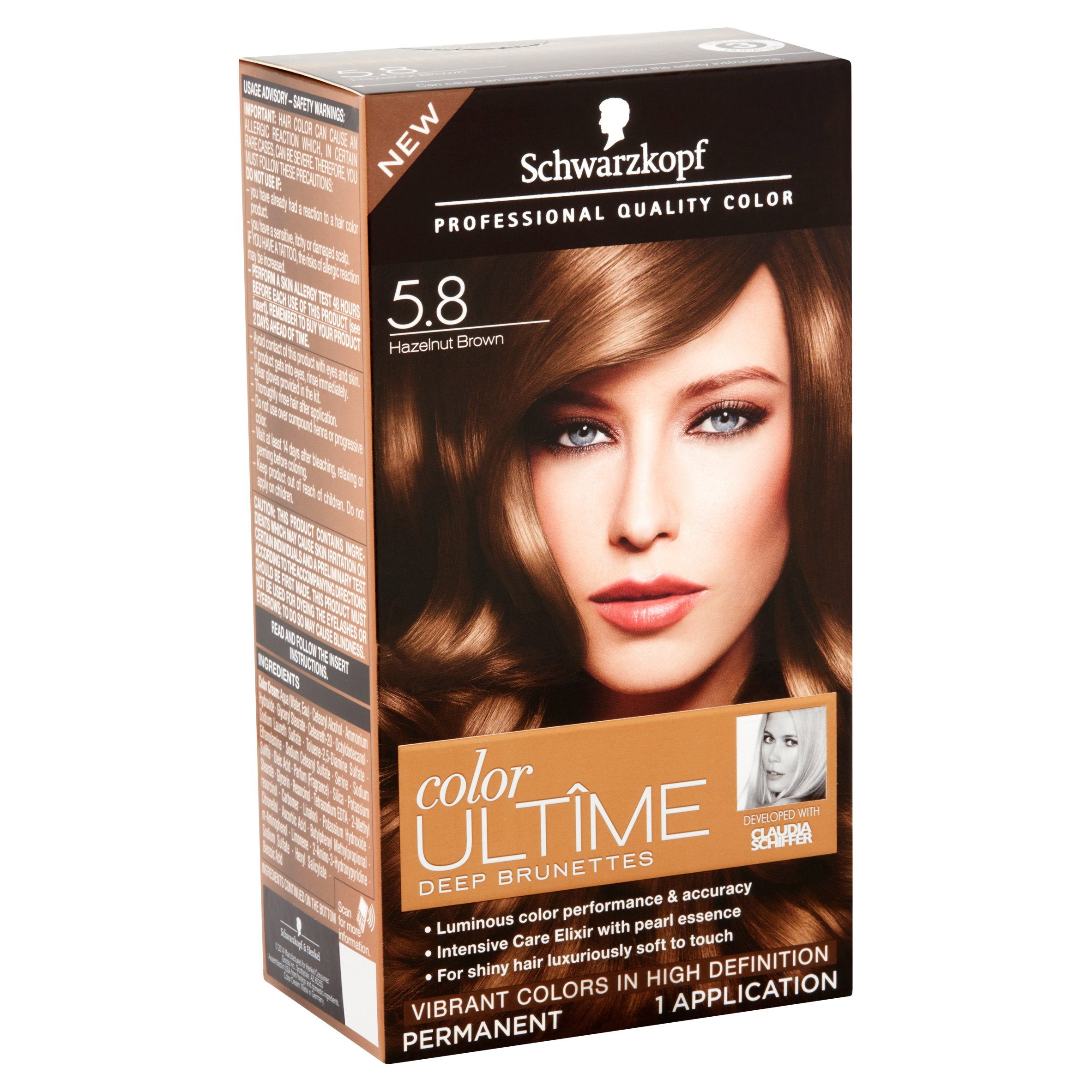Schwarzkopf Color Ultime Deep Brunettes Hair Coloring Kit Walmart