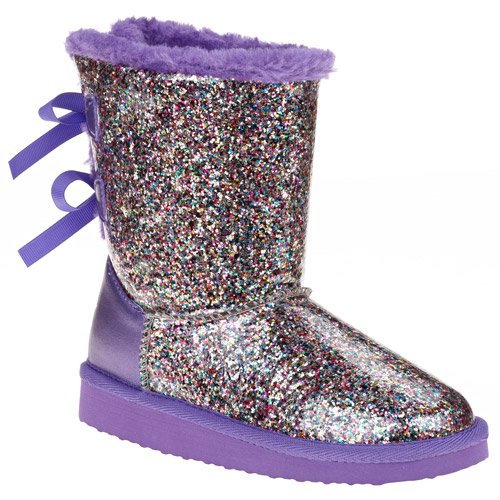 Girl's Multi Glitter Boot